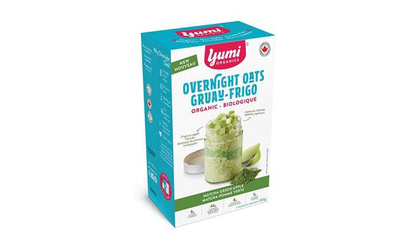 Organic Matcha Green Overnight Oats