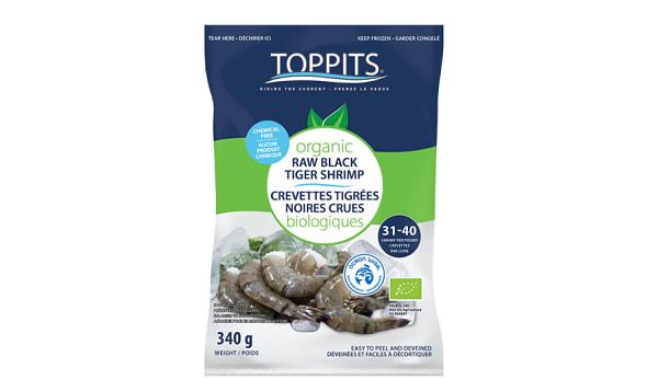 Organic Easy Peel BlackTiger Shrimp (Frozen)