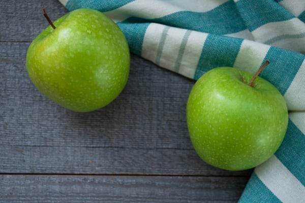 Organic Apples, Bagged Granny Smith