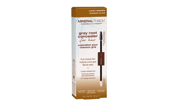 Gray Root Concealer - Light Brown