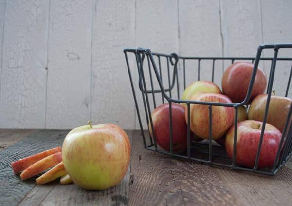 Organic Apples, Bagged Ambrosia