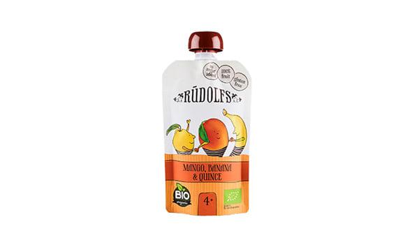 Organic MangoBanana Quince Puree Pouch