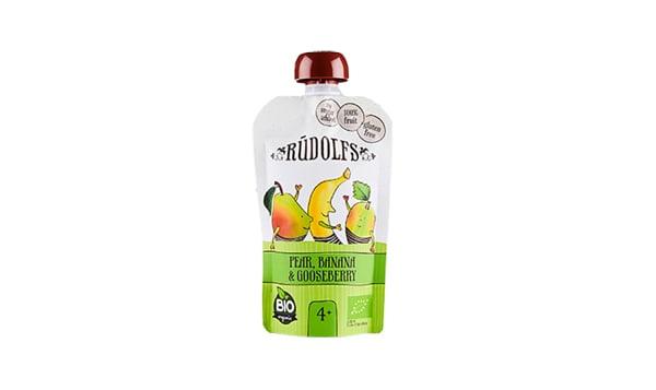 Organic Pear Banana Gooseberry Puree Pouch