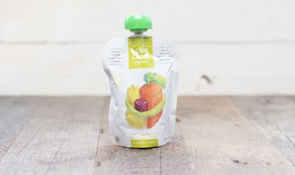 Organic Super Blends - Pear, Carrot, Green Bean & Prune