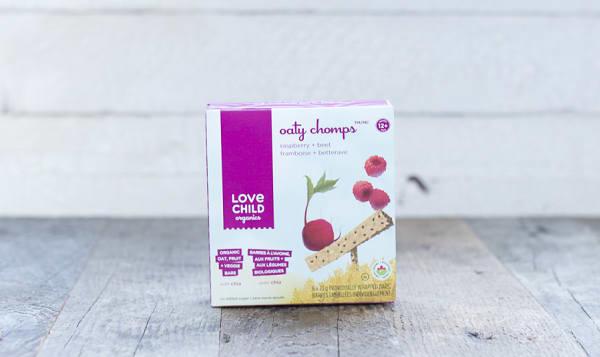 Organic Oaty Chomps - Raspberry & Beet