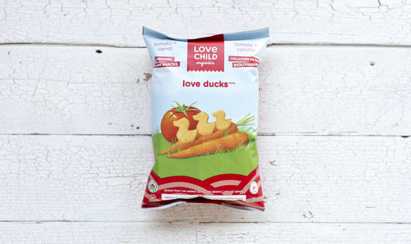 Organic Love Ducks - Tomato & Carrot