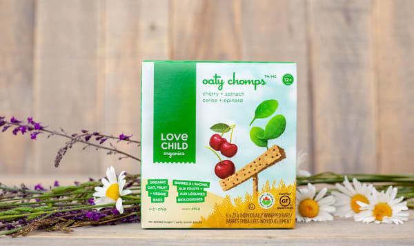 Organic Cherry Spinach Oaty Chomps