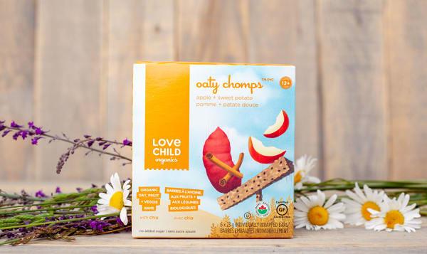Organic Apple Sweet Potato Oaty Chomps