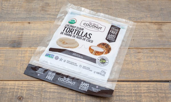 Organic Coconut Flour Tortillas (Frozen)