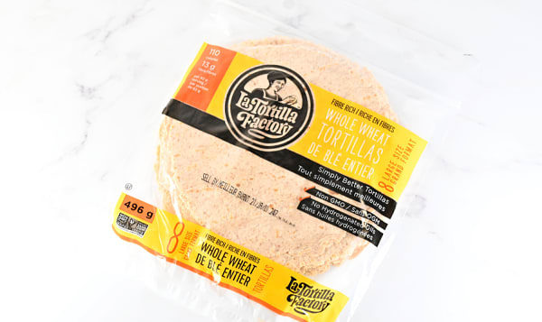 Whole Wheat Low Carb Low Fat Tortilla
