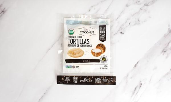 Organic Real Coconut - Coconut Flour Tortilla (Frozen)