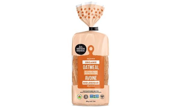 Organic Oatmeal Bread (Frozen)