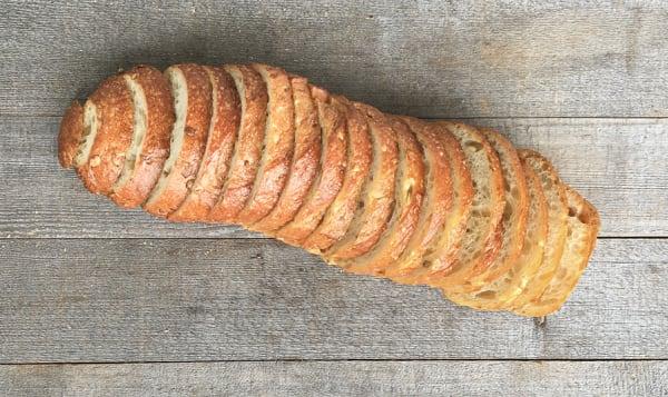 Artisan Seeded Hearth Loaf - Sliced