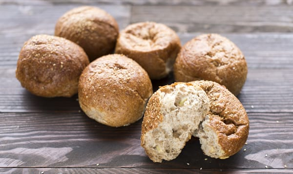 Peasant Buns Wholegrain