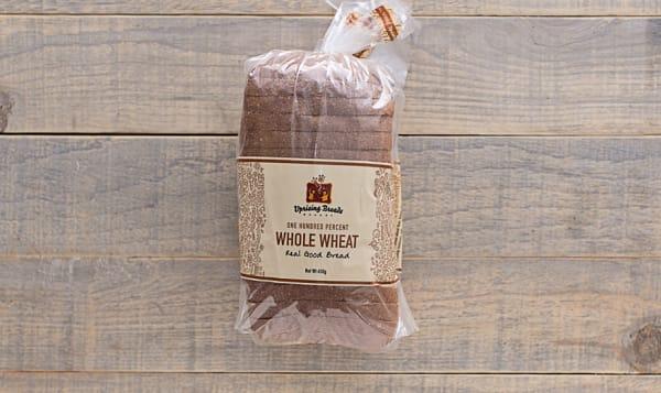 100% Whole Wheat Bread Sliced