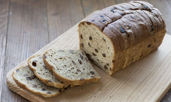 Raisin Bread, Whole Wheat