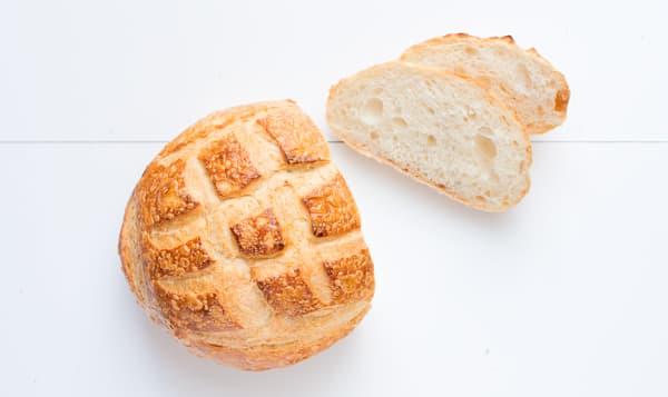 Sourdough Loaf, Round Unsliced - Yeast, Sugar & Fat Free