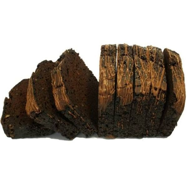 Chocolate Pecan Loaf - Sliced