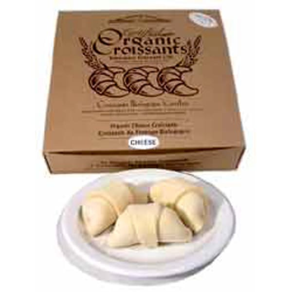 Organic Ready-to-Bake Cheese Croissants (Frozen)