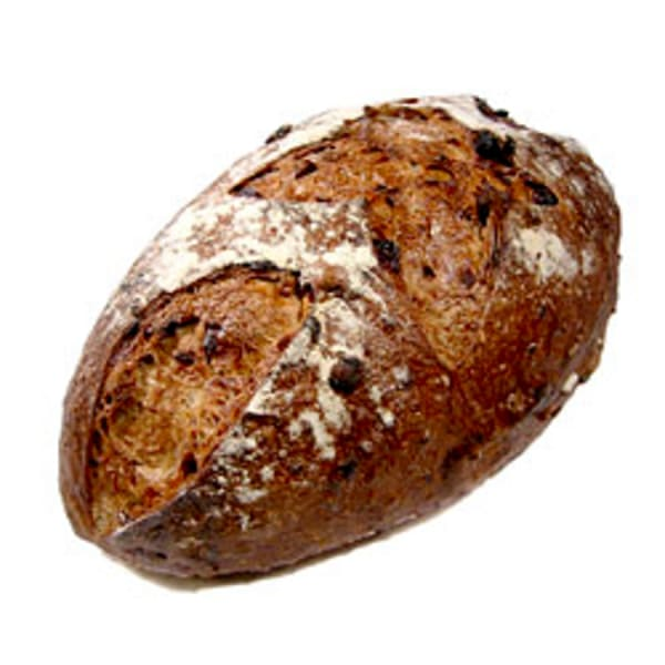 Cranberry Pecan Sourdough Loaf Unsliced
