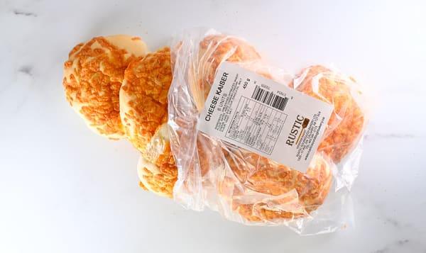 Cheddar Cheese Kaiser Buns