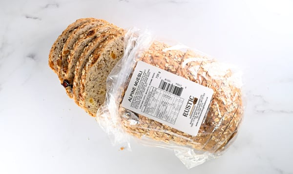 Alpine Muesli Loaf (15% Rye)