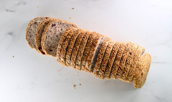 Cranberry Pecan Loaf  (25% Rye)