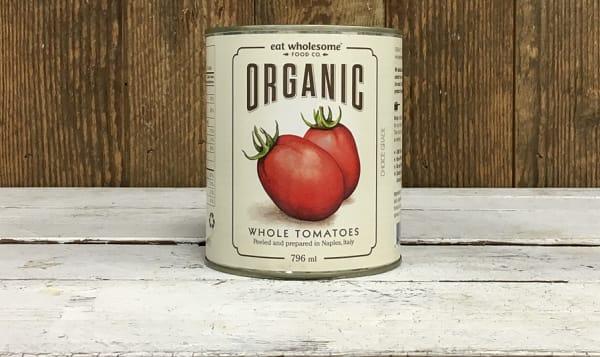 Organic Whole Tomatoes