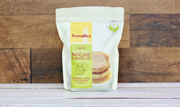 Organic Whole Wheat Pancake & Waffle Mix