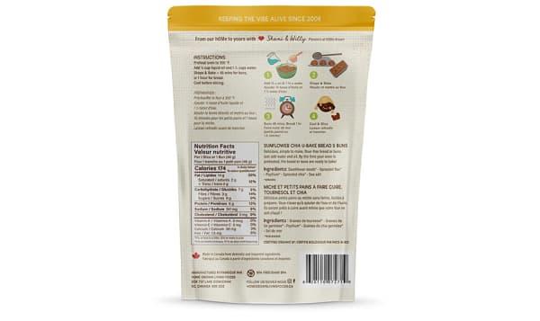 Organic U Bake Keto Bread - Sunflower Chia    - Net Carbs: 4g