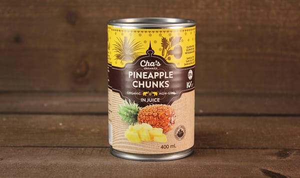 Organic Pineapple Chunks
