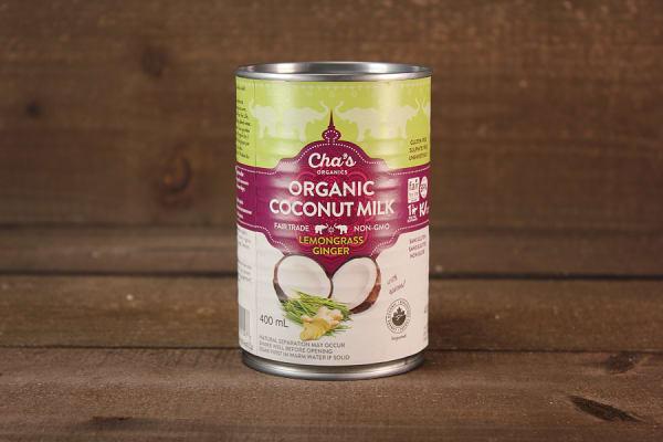 Organic Lemon Ginger Coconut Milk