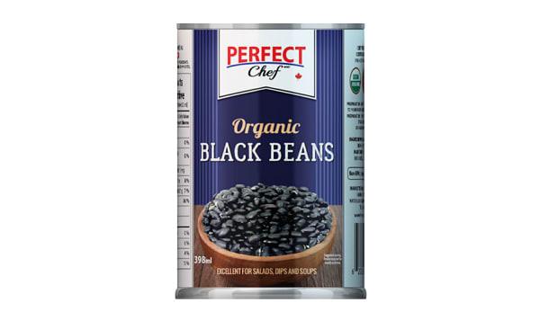 Organic Black Beans with Sea Salt