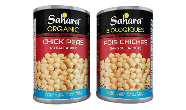 Organic Chickpeas - No Salt