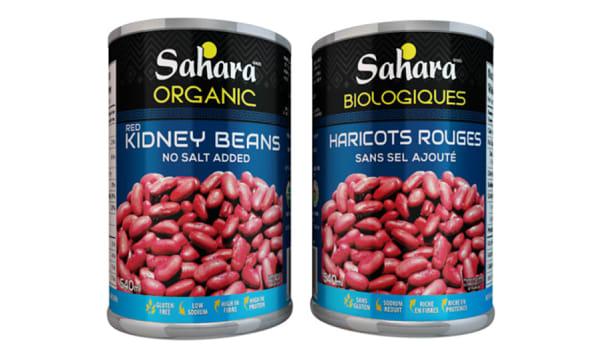 Organic Kidney Beans - No Salt