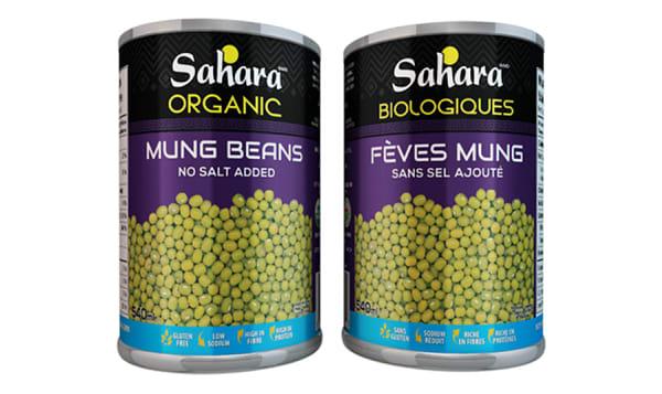 Organic Mung Beans - No Salt
