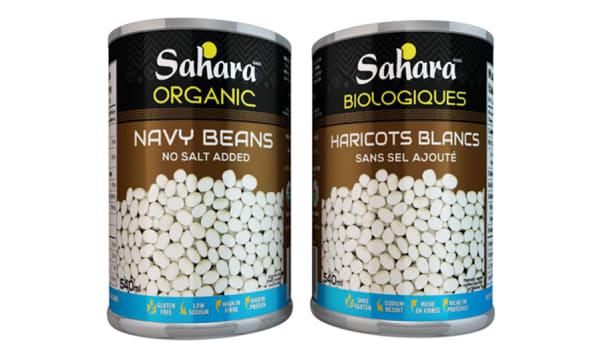 Organic Navy Beans - No Salt