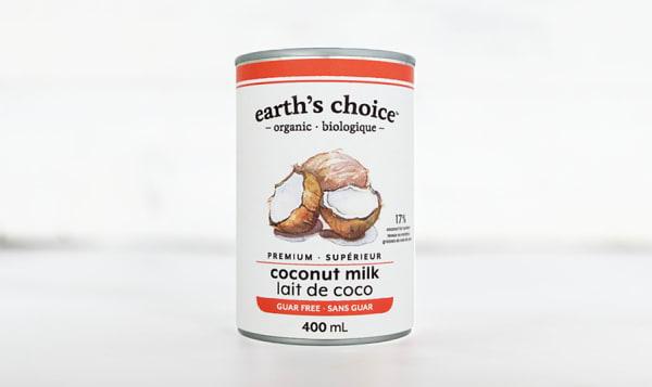 Organic Coconut Milk, Guar Free
