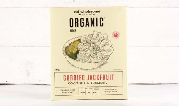Organic Curried Jackfruit - Coconut & Turmeric