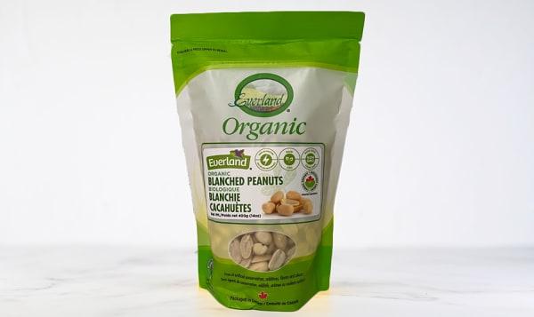 Organic Peanuts, Raw Blanched