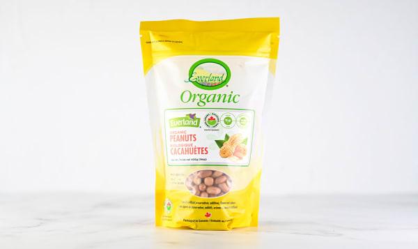 Organic Peanuts, Raw