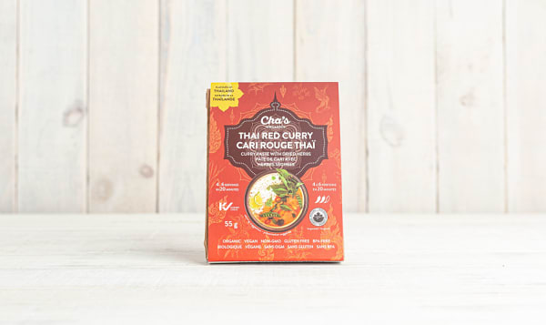 Organic Thai Red Curry Paste with Dried Herbs