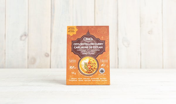 Organic Ceylon Yellow Curry Paste with Dried Herbs