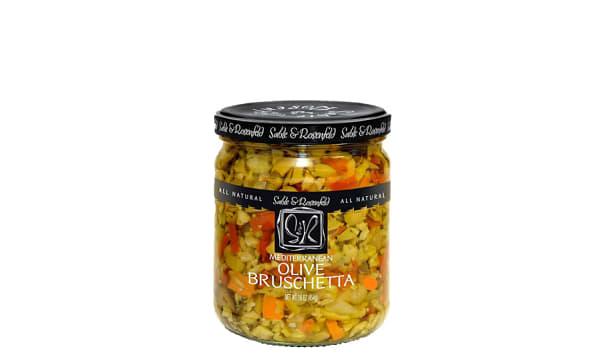 Mediterranean Olive Bruschetta