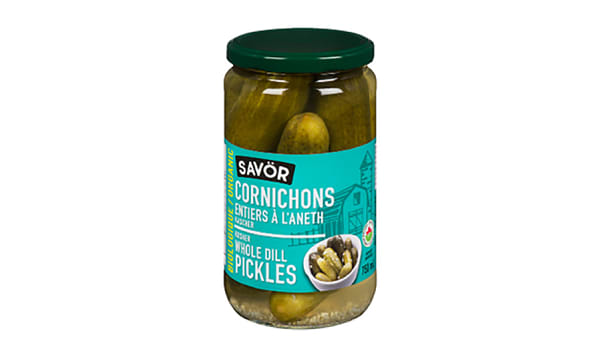 Organic Whole Dill Pickles