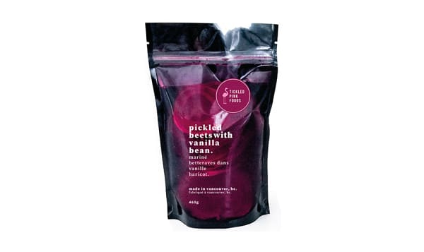 Pickled Beets with Vanilla Bean