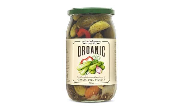 Organic Garlic Dill Pickles