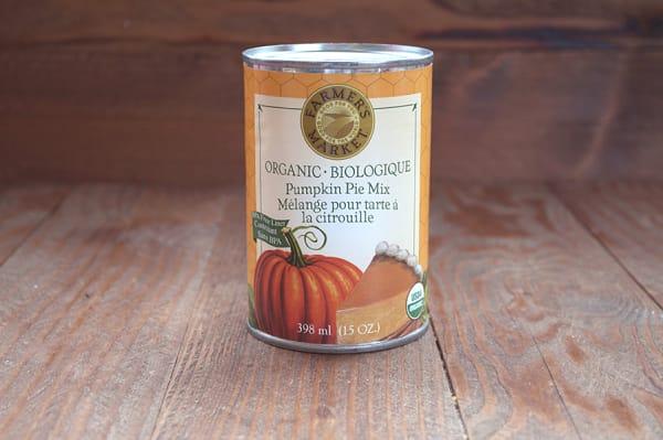 Organic Pumpkin Pie Mix - BPA Free