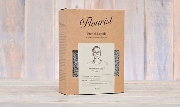 French Lentils grown in Laura, SK
