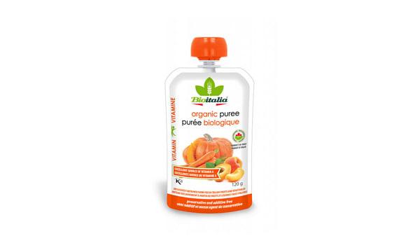 Organic Carrot Apricot Pumpkin Puree